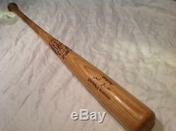 Vintage baseball bat Cleveland Indians John Grubb gamer