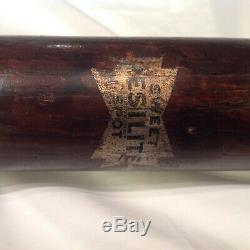 Vintage baseball bat Earl Averill Cleveland Indians