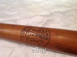 Vintage baseball bat Earl Sparky Adams