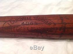 Vintage baseball bat George Sisler
