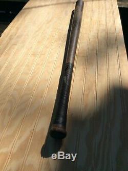 Vintage baseball bat Griswold sport shop Detroit Michigan