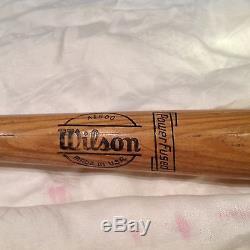 Vintage baseball bat Lou Boudreau