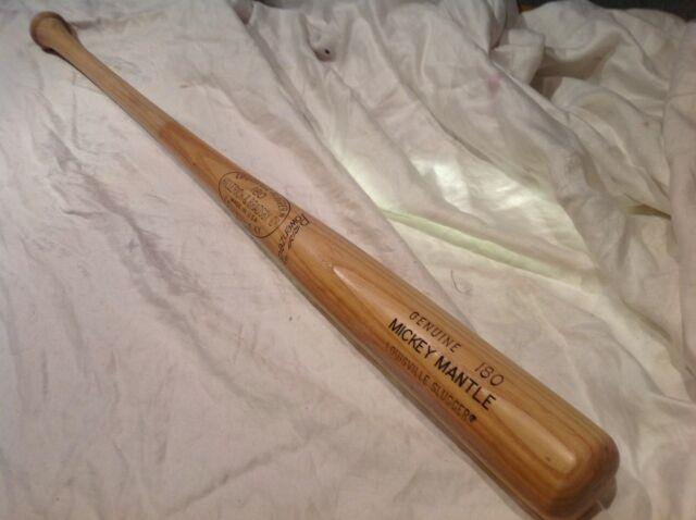 Vintage Baseball Bat Mickey Mantle