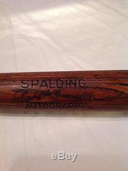 Vintage baseball bat Roger Bresnahan