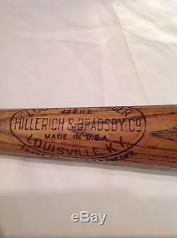 Vintage baseball bat Rogers Hornsby