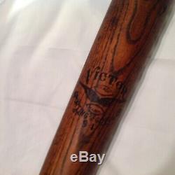 Vintage baseball bat Victor
