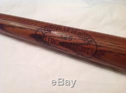 Vintage baseball bat dash dot dash team bat 1916-1921