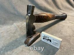 Vintage carpenters axe hatchet hammer custom JESSE REED baseball bat handle