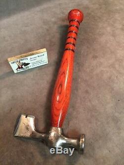 Vintage drywall hammer axe hatchet custom JESSE REED baseball bat handle