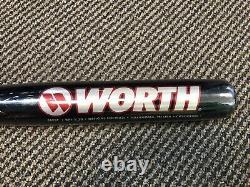 Vintage worth official softball aluminum metal bat NOS 90s baseball supercell 13