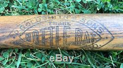 Vtg 1920's Goldsmith Bottle Bat Play Ground Baseball Bat 31 Cincinnati OH Rare