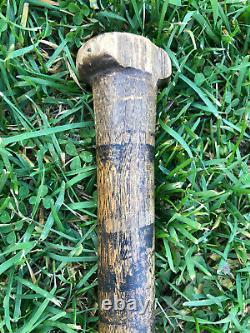 Vtg 1920s Burke E-35 Hanna Mfg Co. Baseball Bat 34 Athens GA Early Bat Logo
