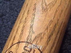 Vtg 1930-40 Joe Cronin Louisville Slugger 125 JC Hillerich Bradsby Baseball Bat