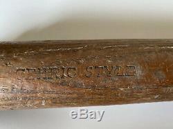 Vtg 1930s Adirondack Lou Gehrig Baseball Bat Yankees Mclaughlin Millard 34
