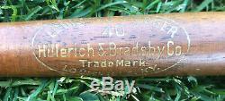 Vtg 1930s Lou Gehrig Louisville Slugger Mini Baseball Bat 16'' NY Yankees HOF