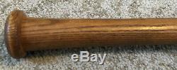Vtg 1930s Saline Co SACO LINE Pro Model Baseball Bat 34 Saline Michigan Rare