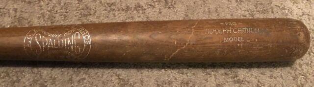Vtg 1940s Adolph Dolph Camilli Spalding Pro Model Baseball Bat 34 Uncracked