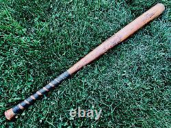 Vtg 1940s WWII USN Hillerich Bradsby 102 H&B Baseball Bat Softball 33 US NAVY