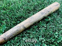 Vtg 1940s WWII USN Louisville Slugger 102 H&B Baseball Bat Softball 33 Military