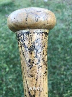 Vtg 1950's Mickey Vernon Louisville Slugger Baseball Bat 33 Uncracked Rare