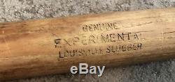 Vtg 1950s Experimental B249 Louisville Slugger Bulbous Handle Baseball Bat Rare