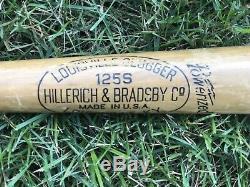 Vtg 1950s Joe Gordon Louisville Slugger Baseball Bat 34 Rare WSC Yankees HOF