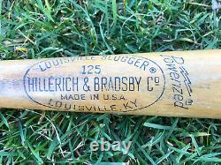 Vtg 1970s Al Kaline Louisville Slugger Baseball Bat 35 Westland Parks Rec. MI