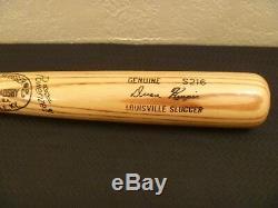 Vtg 1974-79 Cleveland Indian Duane Kuiper Signed H&b 125 Model S216 Baseball Bat