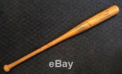 Vtg 1977-79 John Wockenfuss Game Used Louisville Slugger Baseball Bat Detroit