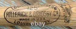 Vtg 60s-70s ROBERTO CLEMENTE 34 H&B Hillerich Bradsby Pro Model Baseball Bat