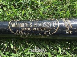 Vtg'83 Hank Greenberg Chas Gehringer DETROIT TIGERS Retired #s H&B Baseball Bat