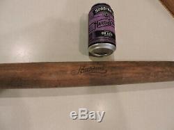 Vtg Antique Wood Wooden Spalding Baseball Bat Victorian Script Sport Memorabilia