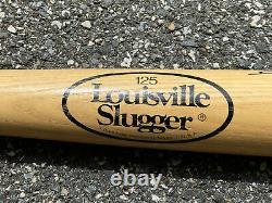 Vtg Jackie Robinson 125 Louisville Slugger Baseball Bat Signed By Willie Mays