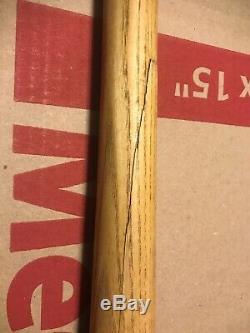 Vtg Lou Gehrig 125 L. G. S. 33 Louisville Slugger Baseball Bat Hillerich Bradsby
