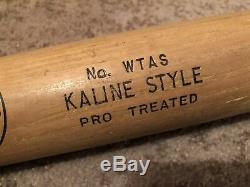 Vtg Rare 1950s 60s Al Kaline Hanna Batrite 33 Baseball Bat Glasgrip Handle Nice