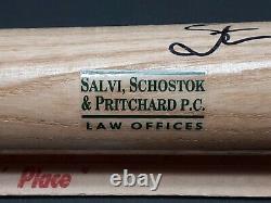 Vtg Stan Mikita Hockey Chicago Blackhawks Autograph 29 Baseball Bat with JSA Card