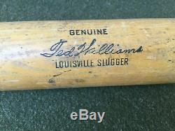 Vtg. Ted Williams 35 Powerized Genuine H&B Louisville Slugger 125 Baseball Bat