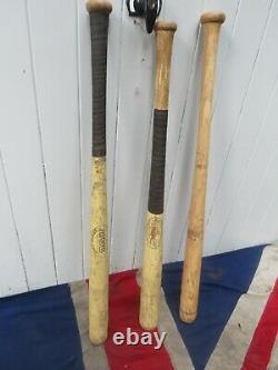 Wham Antique Vintage Old School American USA Wooden Baseball Softball Bats